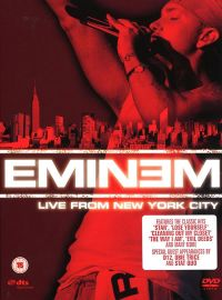 Cover Eminem - Live From New York City [DVD]